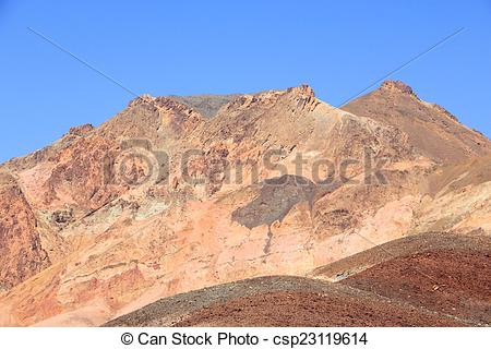 Stock Photography of Death Valley National Park.