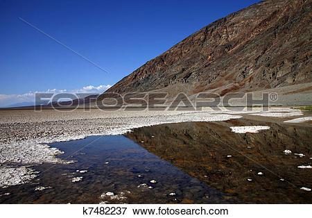 Stock Illustration of Death Valley National Park k7482237.