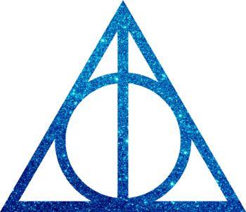 Harry Potter Clip Art / The Deathly Hallows Glitter Clip Art.