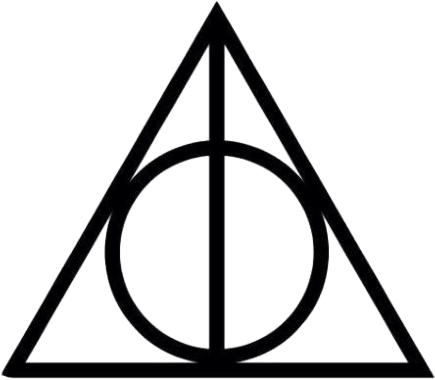 Deathly Hallows Symbol Png Clipart.