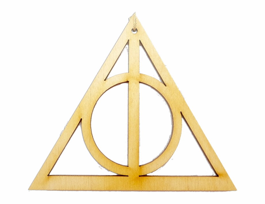 Harry Potter Deathly Hallows Christmas Ornament Free PNG Images.
