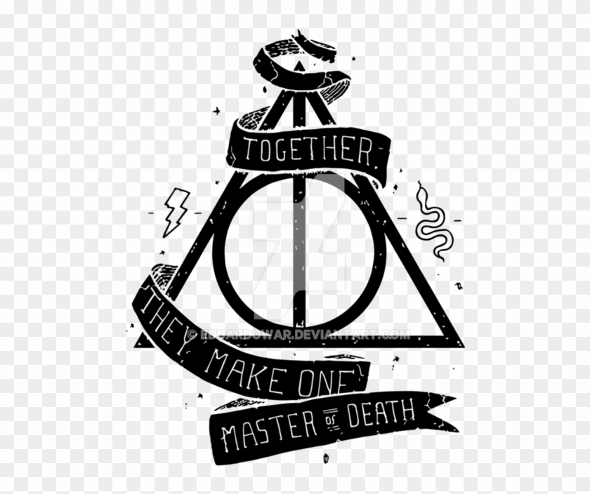 Harry Potter Deathly Hallows Png, Transparent Png (#1663253).