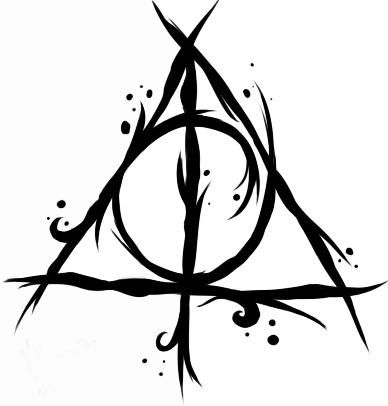 Deathly Hallows Symbol Vector at GetDrawings.com.