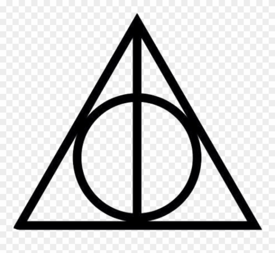 Deathly Hallows Symbol Png Clipart (#1987089).