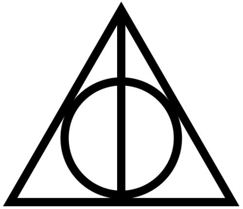 deathly hallows symbol tumblr.