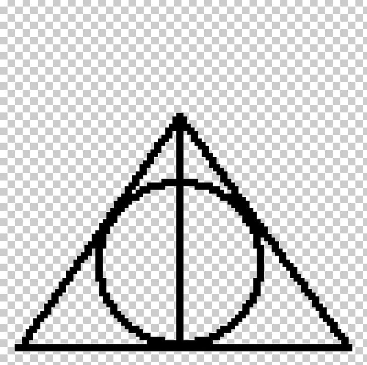 Harry Potter And The Deathly Hallows Symbol Sign Hogwarts PNG.