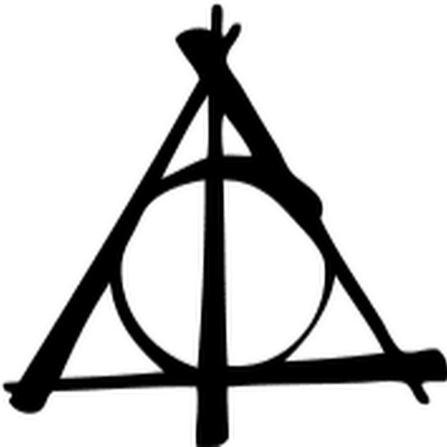 Download deathly hallows sign png clipart Harry Potter and the.