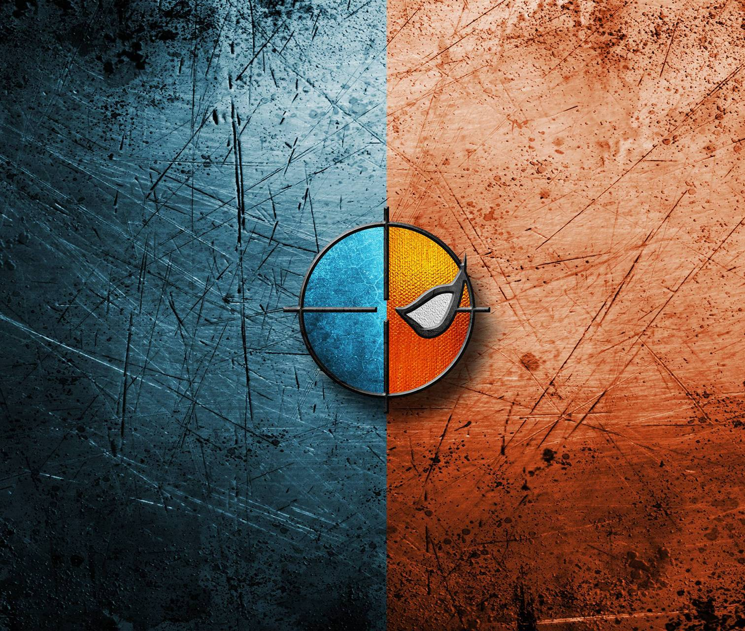 Deathstroke Logo Wallpapers.