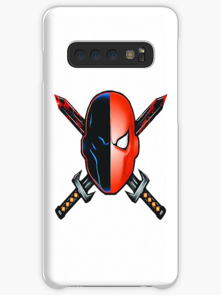 \'Deathstroke Mask logo\' Case/Skin for Samsung Galaxy by IVLeague.