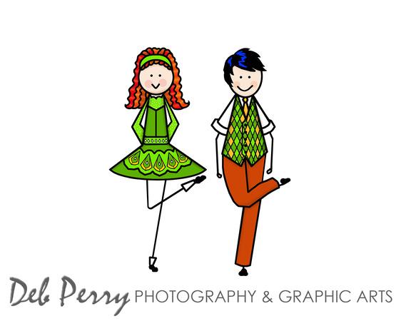 Irish Dance Clipart.
