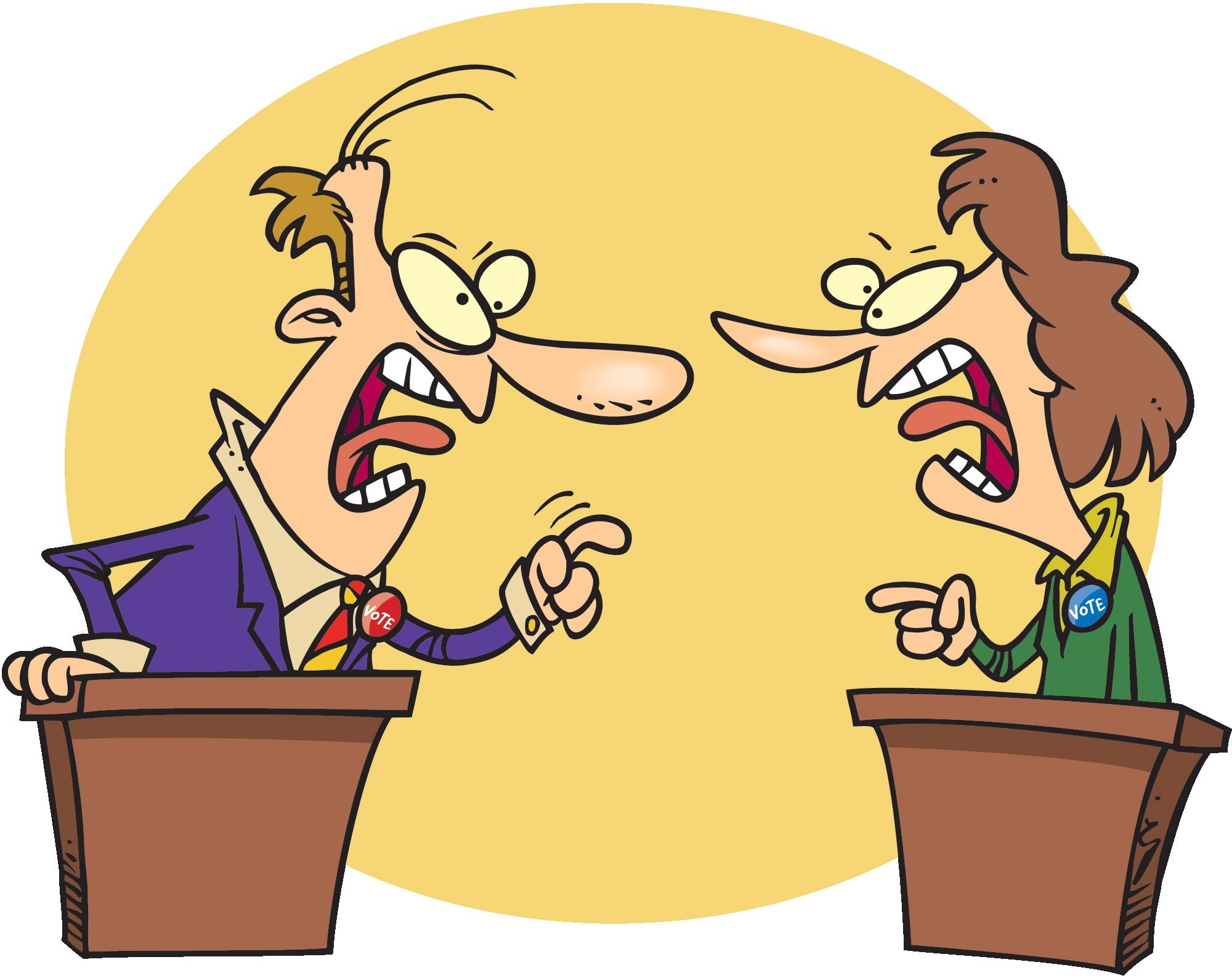 Debate Clip Art N2 free image.