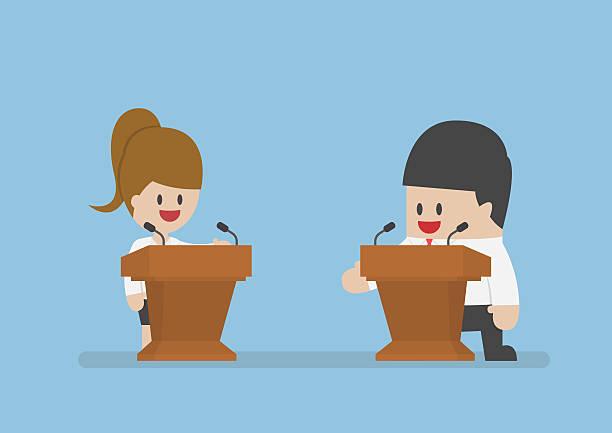 Best Debate Illustrations, Royalty.