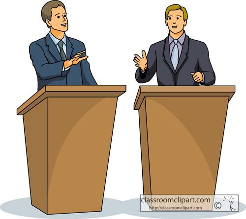 Debate Clipart.