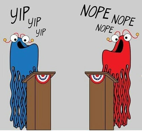 Political Clipart Student Debate #7.