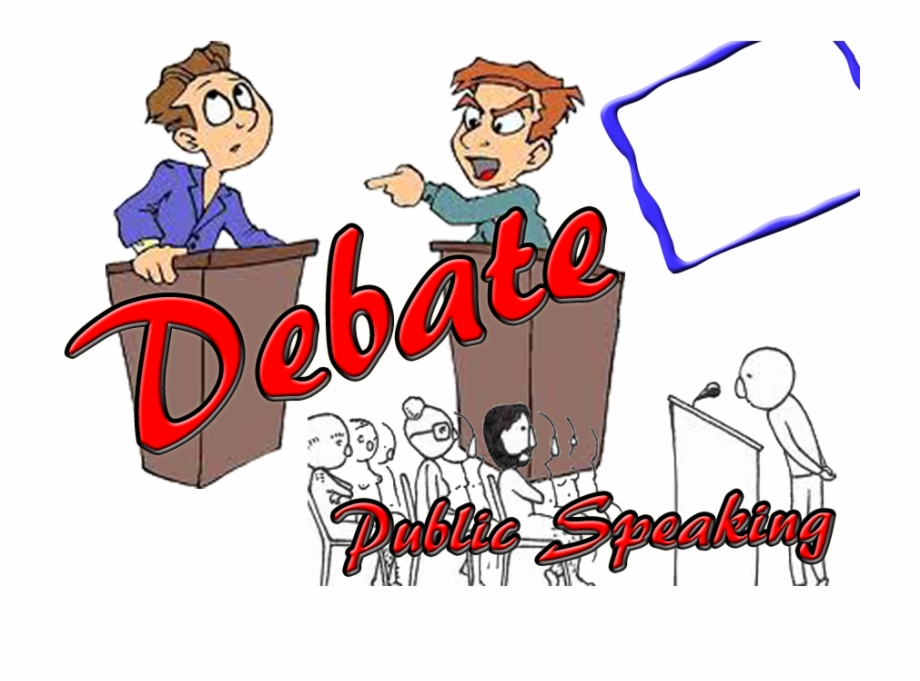 Politics Clipart Debate Competition.