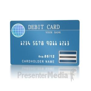 Debit card clipart 1 » Clipart Station.