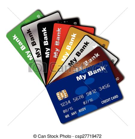 Credit Card Fan.