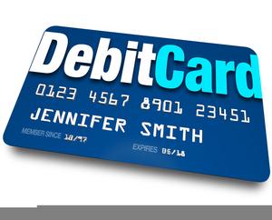Debit Card Clipart.