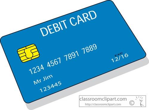 Debit card clipart » Clipart Portal.