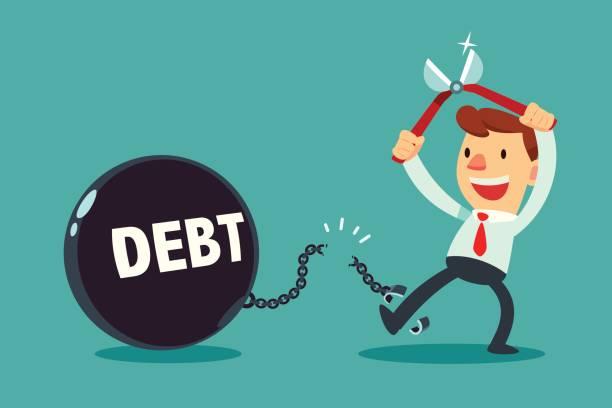 Best Debt Illustrations, Royalty.