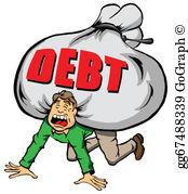 Debt Clip Art.