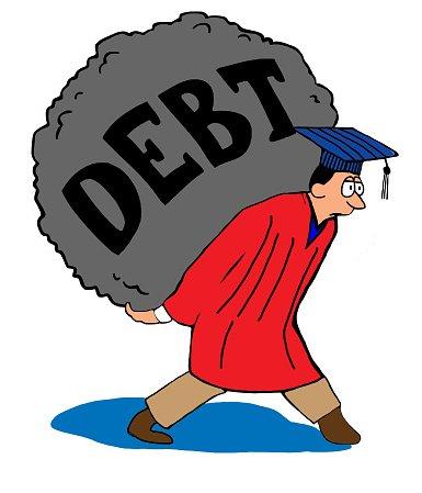 Student Debt premium clipart.