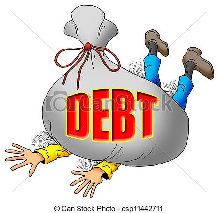 Debt Illustrations and Clip Art. 36,167 Debt royalty free.