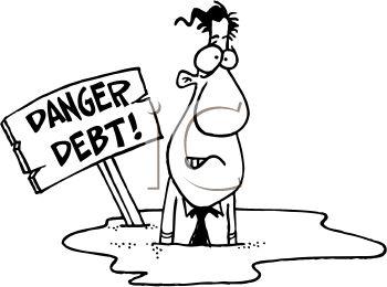 Free Debt Collection Clip Art.