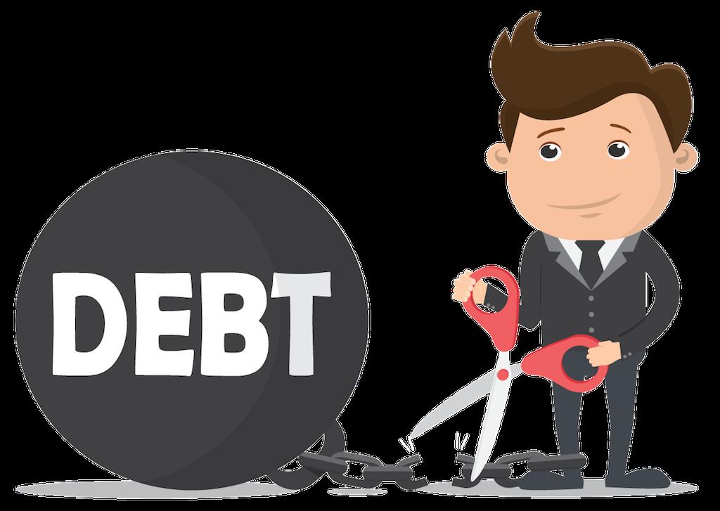Debt PNG Clipart.