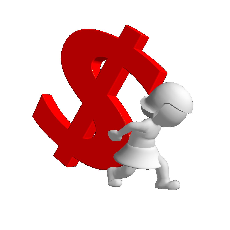 Debt PNG Pic.