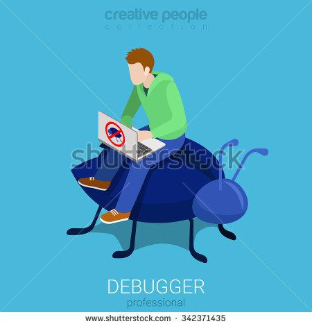 Debugger Stock Photos, Royalty.