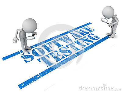 Software testing clipart.