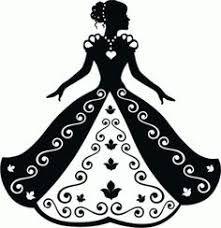 Image result for debutante silhouette.