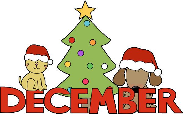December Clip Art.