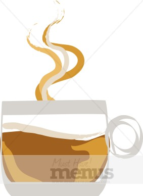 Decaf Coffee Clipart.
