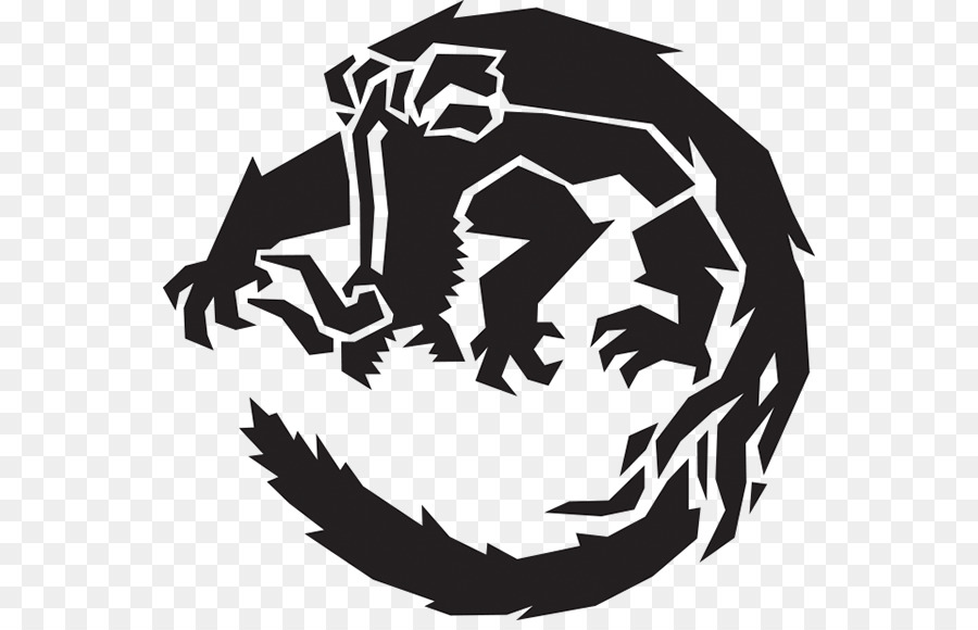 Monster Hunter World Logo clipart.