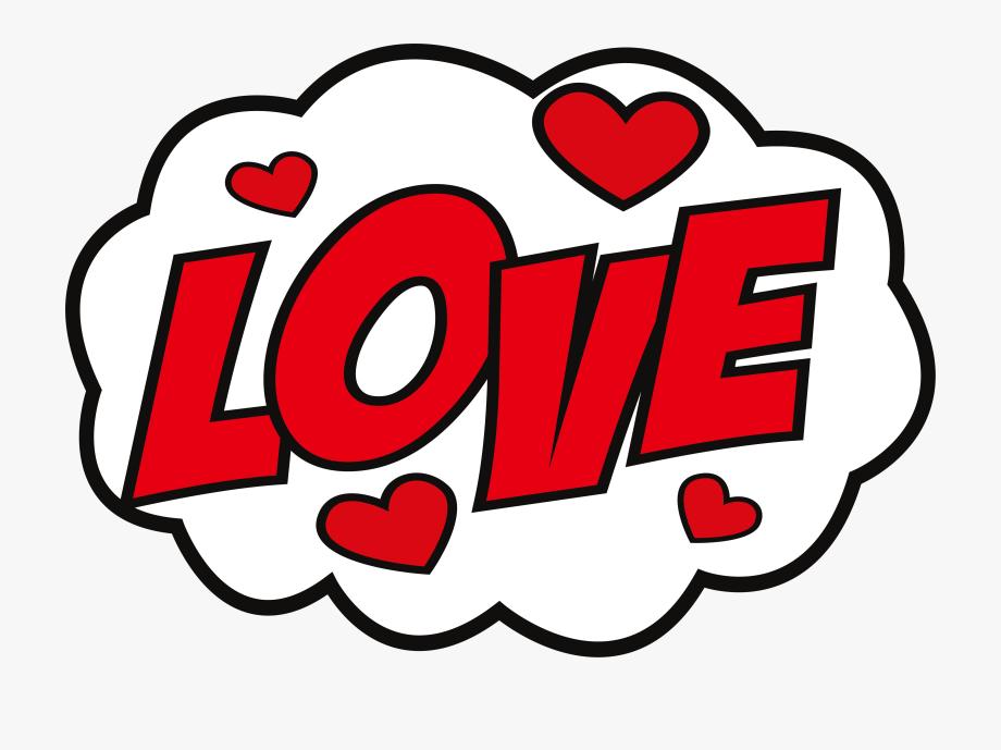 Sticker Love Hike Messenger Decal.