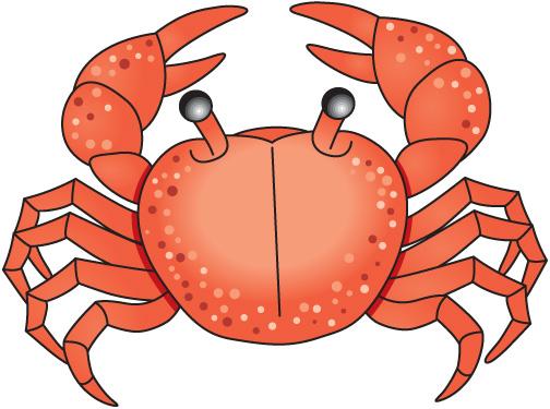 Crab clip art cartoon free clipart images 3.