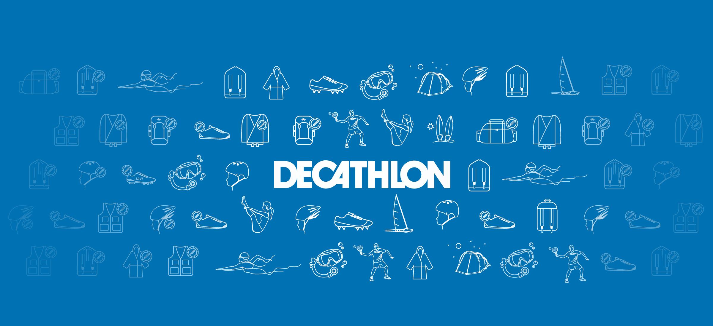 DECATHLON. End of season sale.