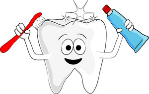Say no to tooth decay clipart.