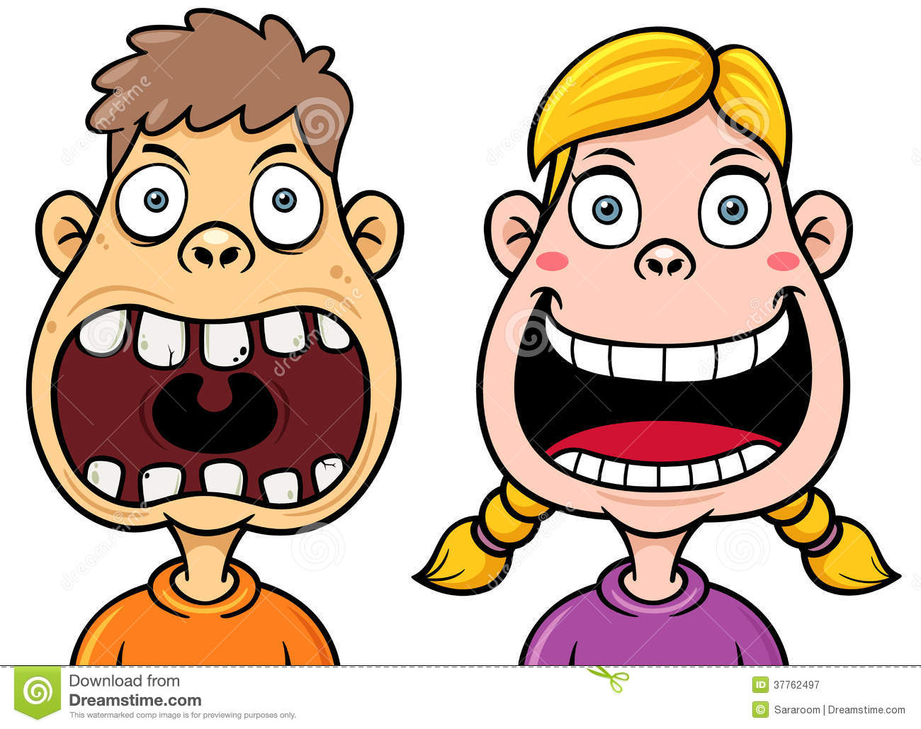 Tooth Decay Clip Art.