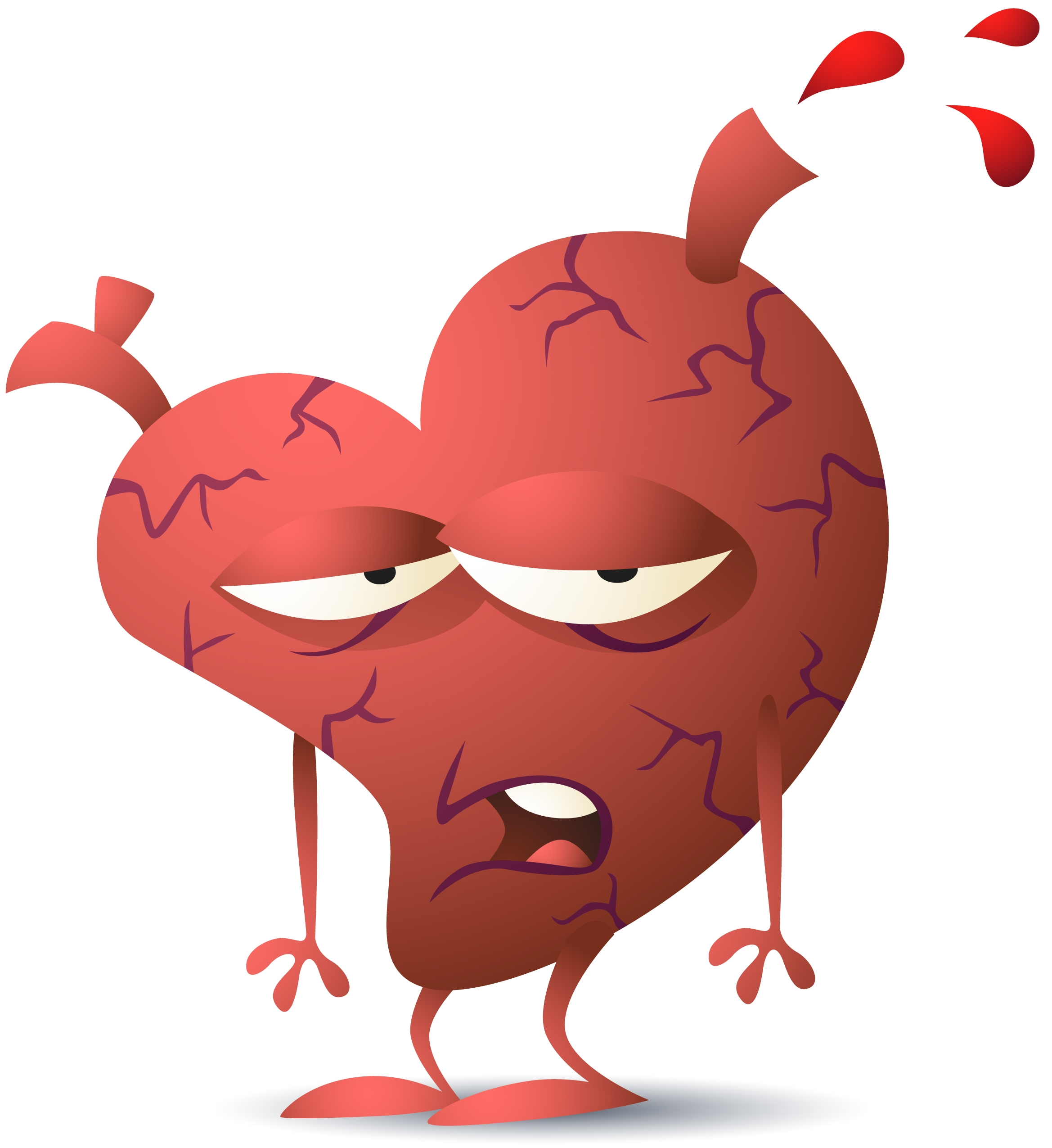 Causes Heart Disease Clip Art.