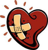 Heart disease clip art.