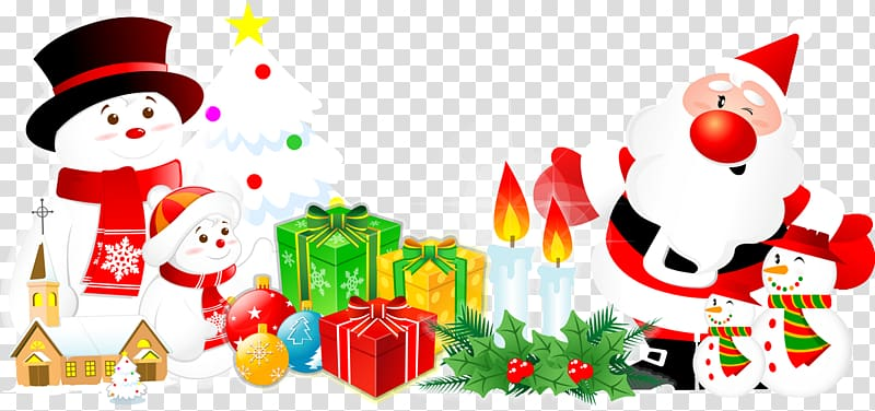 Christmas Transparent Background December Clipart.