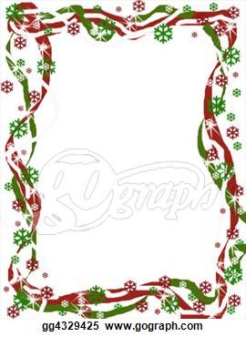 December Border Clipart.