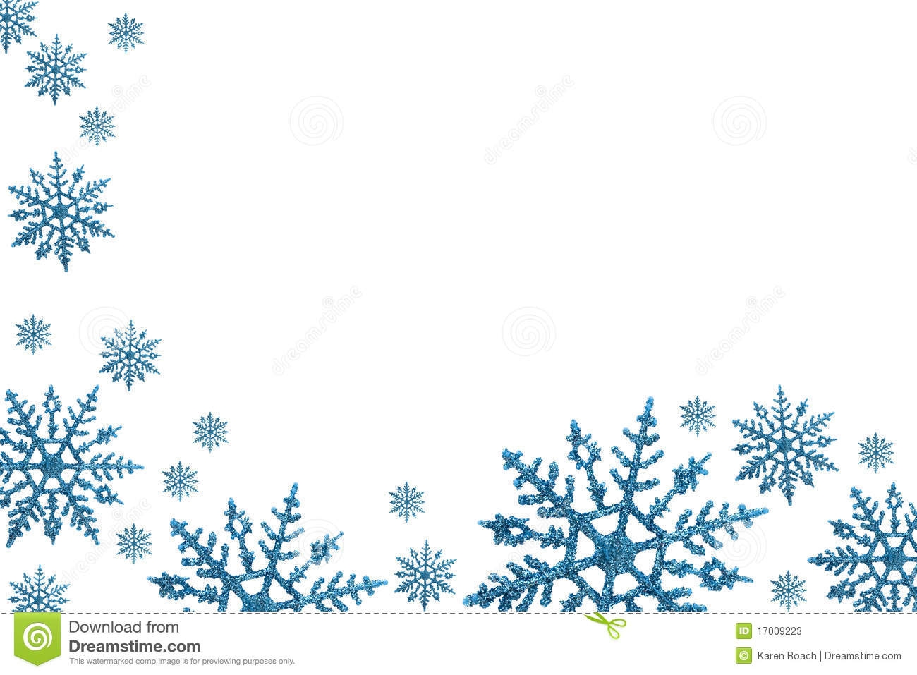 December Clip Art Borders.