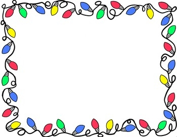 December clip art borders.