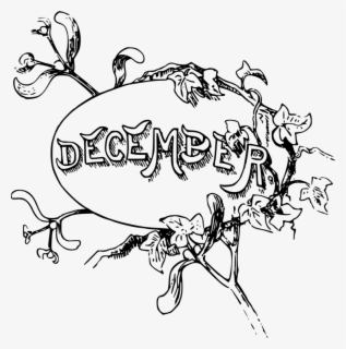 Free December Clip Art with No Background.