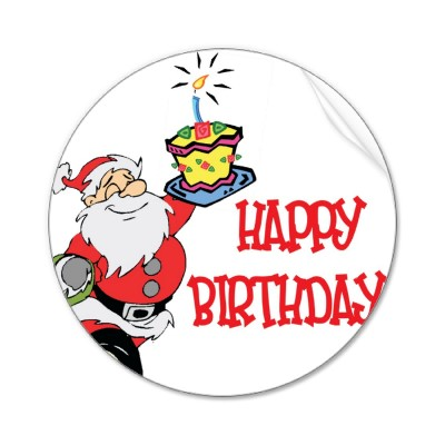 Free December Birthday Clipart.