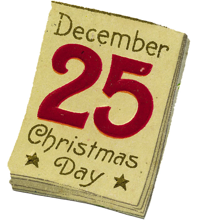 December Images Christmas Day Clipart.